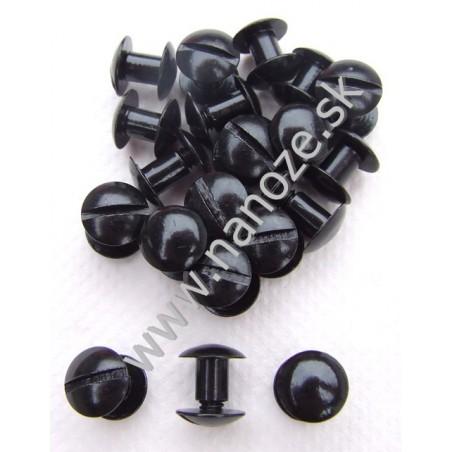 chicago screws čierne 10x7 mm