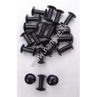 chicago screws čierne 10x13 mm