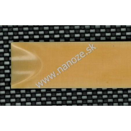 Micarta linen kosť 6,35x80x125 mm