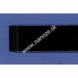 Micarta linen čierna 6,35x80x125 mm