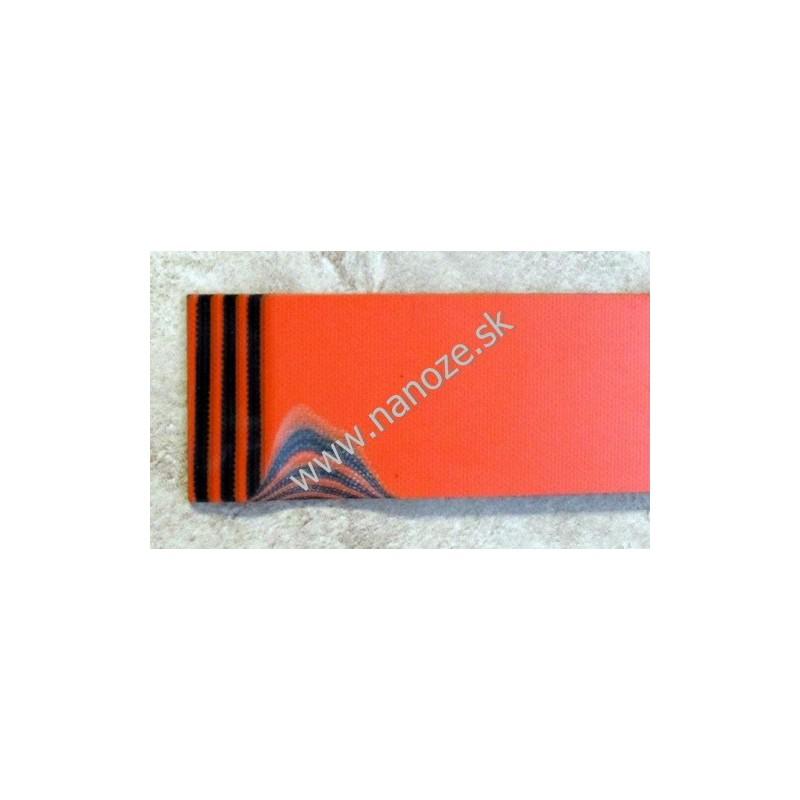 G 10 oranžová/čierna 3,17x80x125 mm