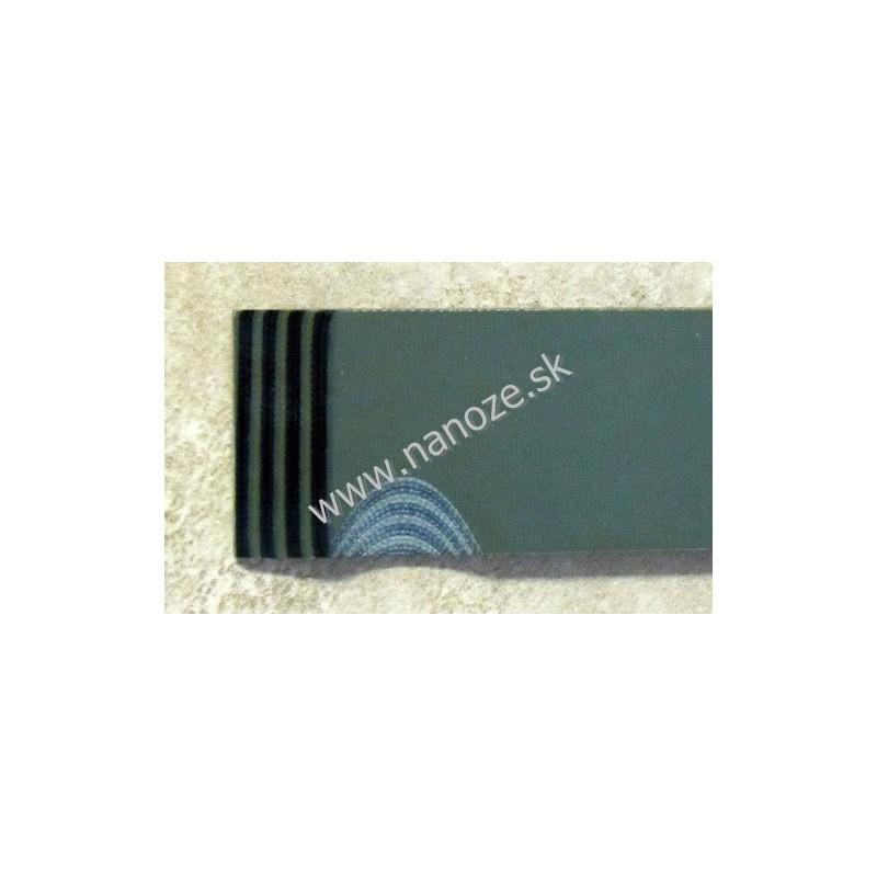 G 10 OD green/čierna 3,17x80x125 mm