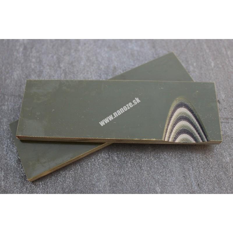 G10 camo (OD/tan/čierna) 6,4 mm
