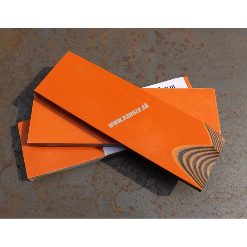 G 10 oranžová/čierna 6,4 mm