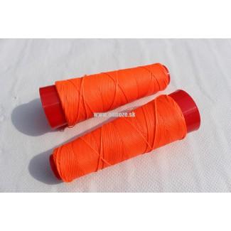niť voskovaná, oranžová - neon