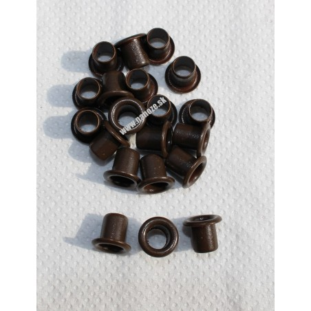 duté nity chocolate brown 10x8 mm