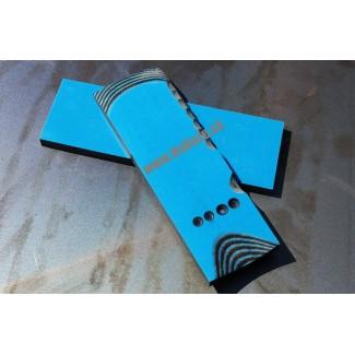 G 10 modrá/čierna 6,5 mm
